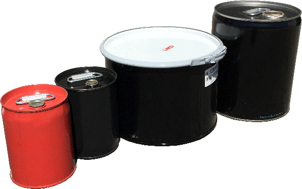 Steel UN drums, steel UN Packaging, 1A2 UN drums, 1A1 UN rated drums
